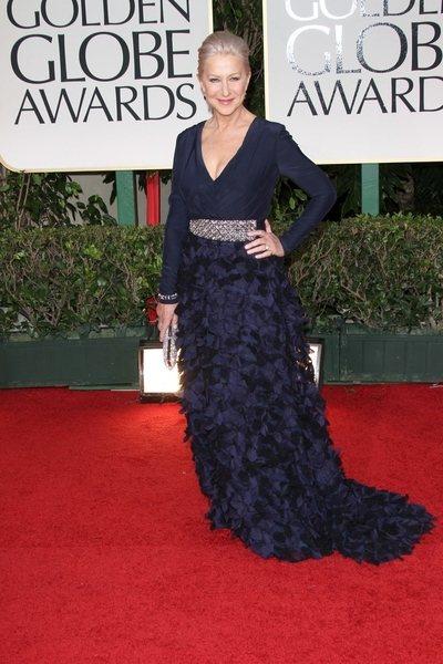 2012 golden globe awards worst dressed Helen Mirren