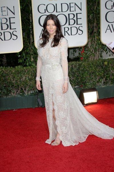 2012 golden globe awards worst dressed Jessica Biel