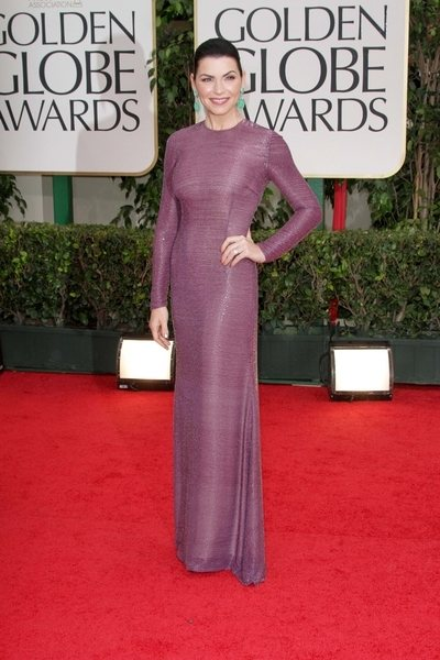 2012 golden globe awards worst dressed Julianna Margulies