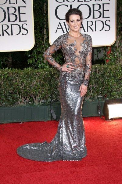 2012 golden globe awards worst dressed Lea Michele