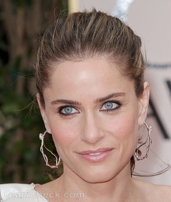 Amanda Peet eye makeup