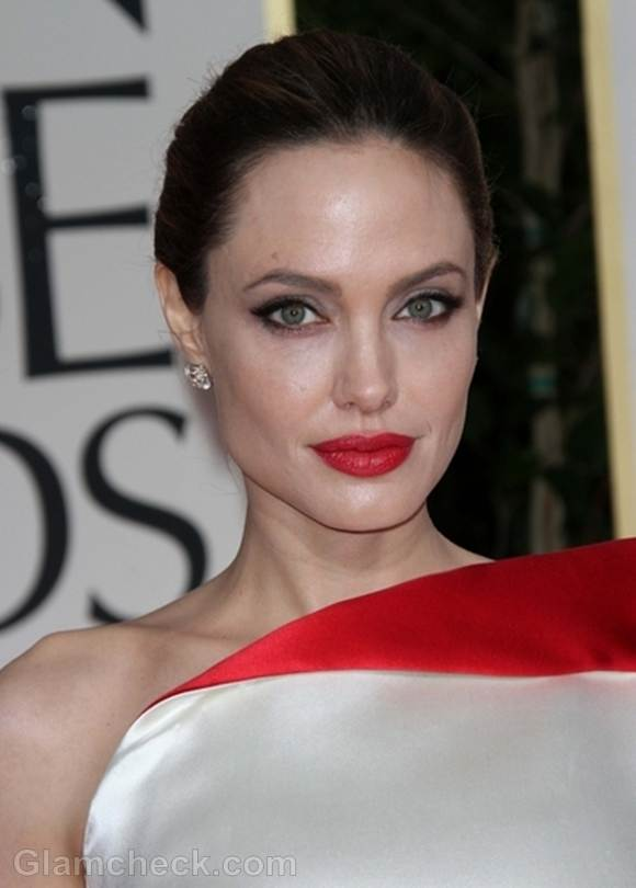 Angelina Jolie 2012 Golden Globe Awards
