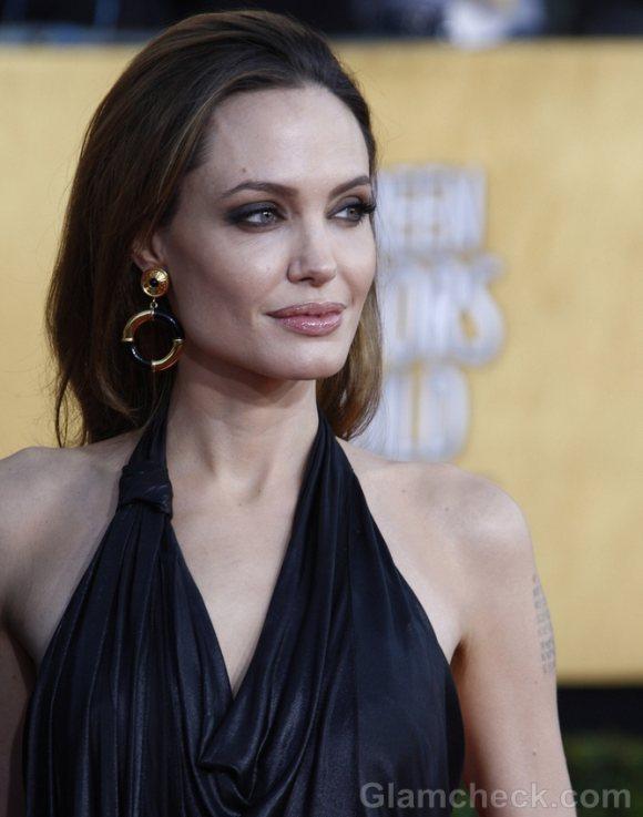 Angelina Jolie 2012 Screen Actors Guild Awards