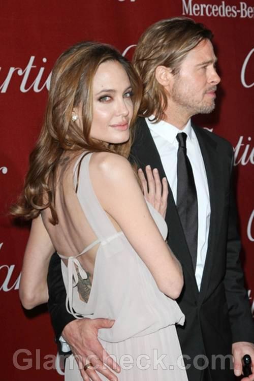 Angeline Jolie at IFFA Gala