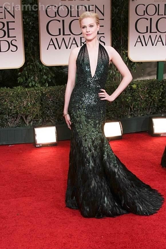 Best dressed 2012 golden globe awards-evan rachel wood