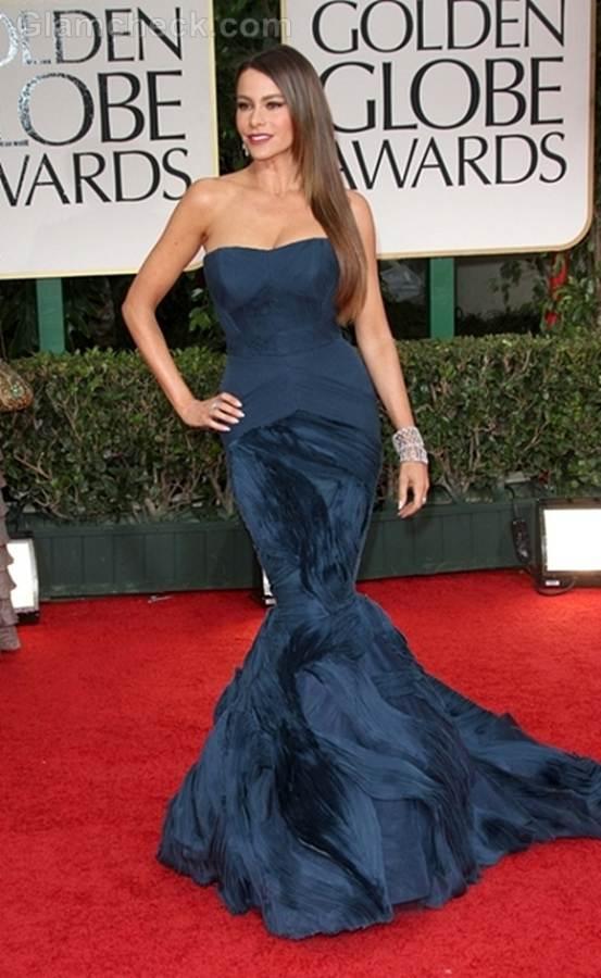Best dressed 2012 golden globe awards-sofia vergara
