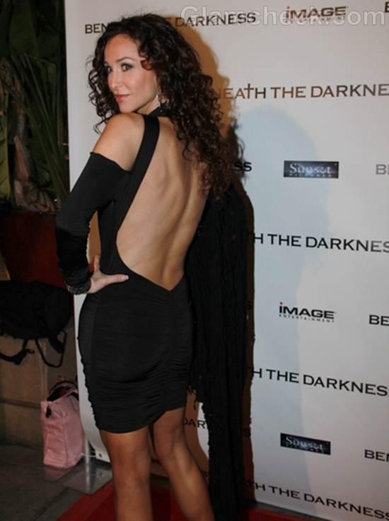 Black Backless Dress Sofia Milos