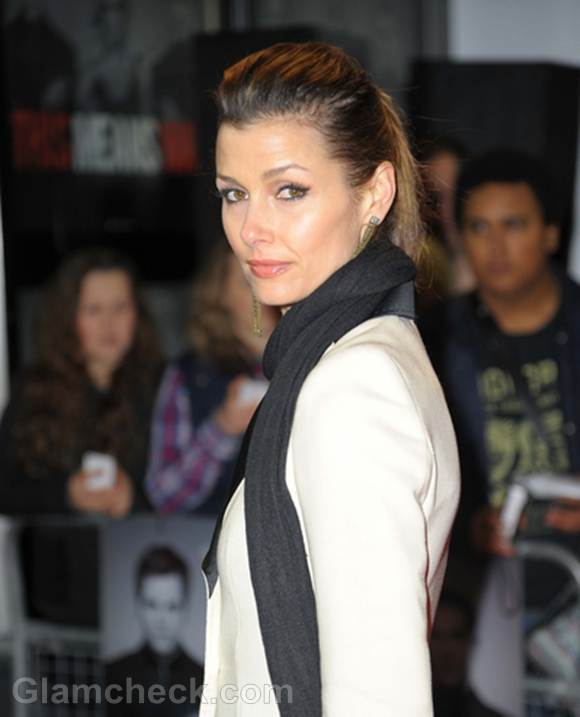 Bridget Moynahan Dons Stylish Suit for This Means War UK Premiere