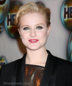 Evan Rachel Wood Sports Classy Androgynous Look at 2012 Golden Globes Afterparty