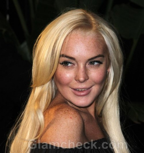 Lindsay Lohan the New Face of Friction Scent