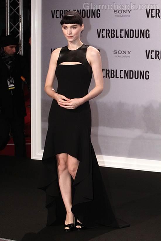 Rooney Mara Classy Germany Premiere Dragon Tattoo