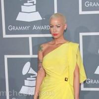 Amber Rose Amber Rose 2012 Grammys