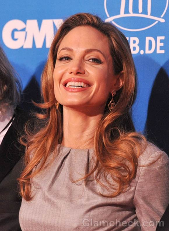 Angelina Jolie Berlin Peace Gala