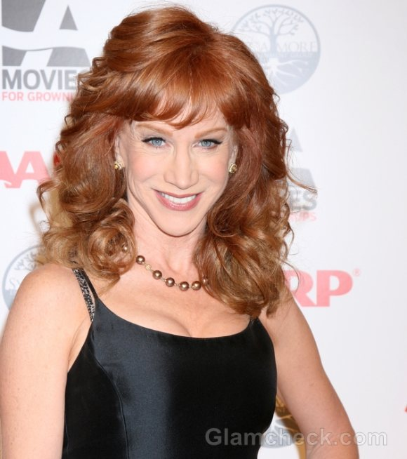 Kathy Griffin Elegant in Black at Movies for Grownups Awards