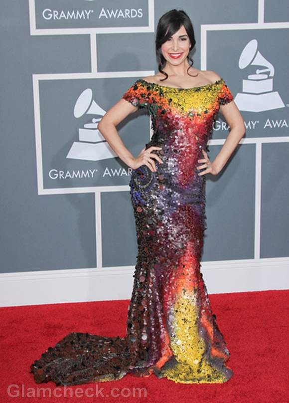 Mayra Veronica 2012 Grammy Awards