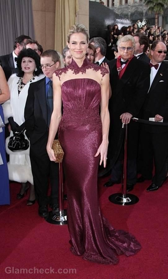 Oscars 2012 best dressed Brooke Burns