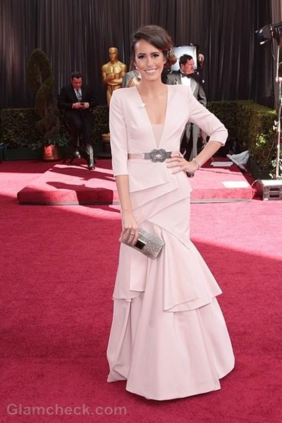Oscars 2012 best dressed Louise Roe