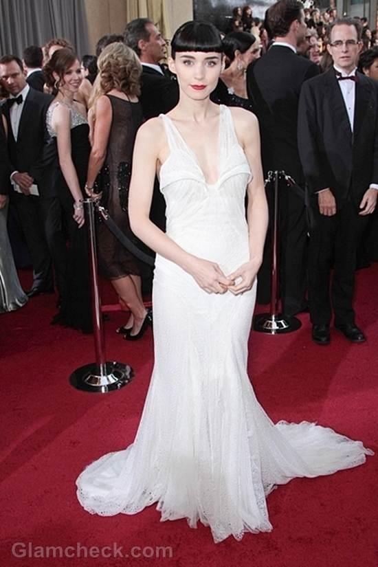 Oscars 2012 best dressed Rooney Mara