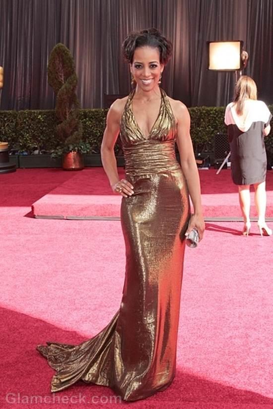 Oscars 2012 best dressed Shaun Robinson