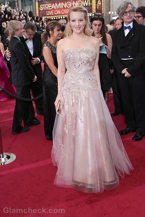 Oscars 2012 best dressed Wendi McLendon-Covey