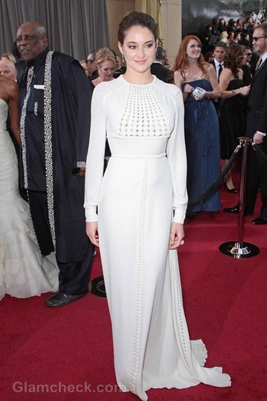Oscars 2012 Celebrities in White Gowns