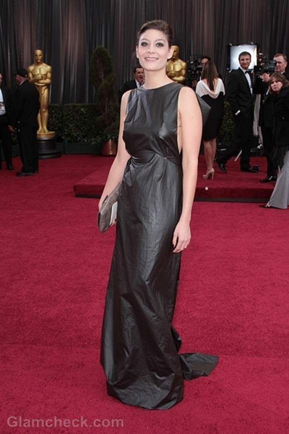 Oscars 2012 worst dressed Anne-Sophie Bion