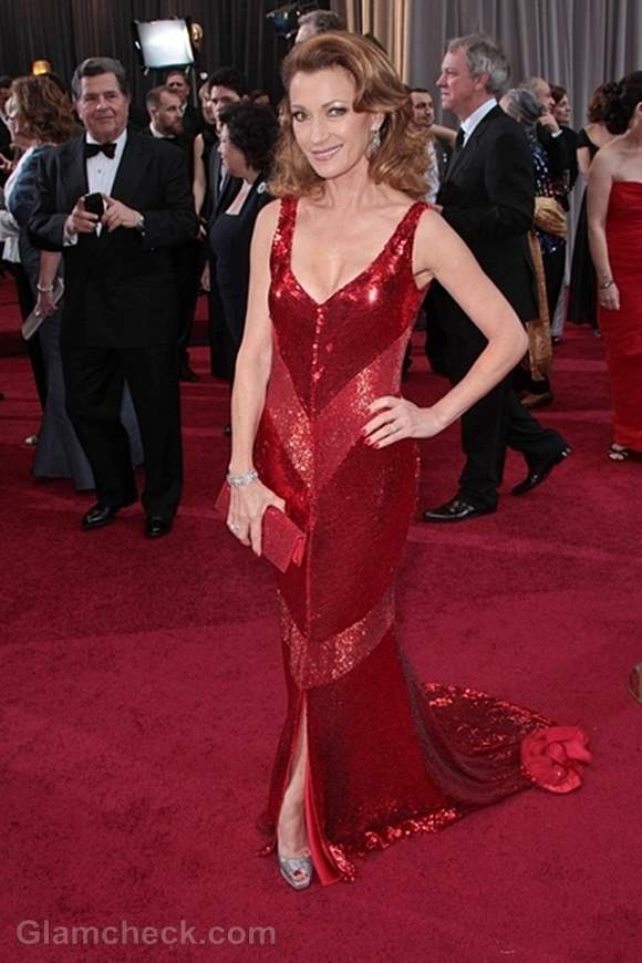 Oscars 2012 worst dressed Jane Seymour