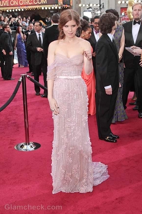 Oscars 2012 worst dressed Kate Mara