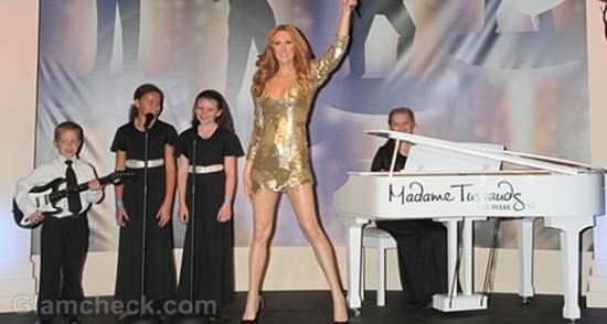 Celine Dion Wax Figure madame