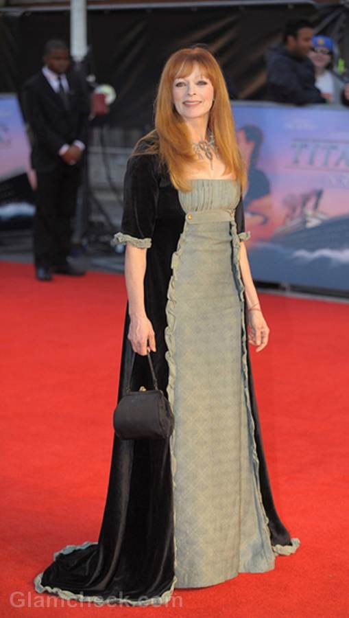 Frances Fisher Titanic in 3D world premiere