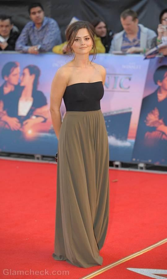 Jenna-Louise Coleman Titanic in 3D world premiere