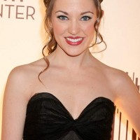 Laura Osnes Black Dress at Smith Center Opening Night