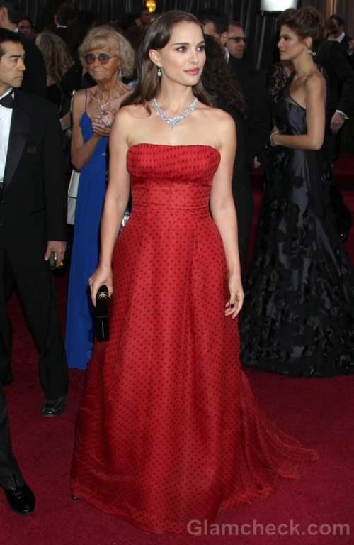 Natalie Portmans Oscars Vintage Dior Sells