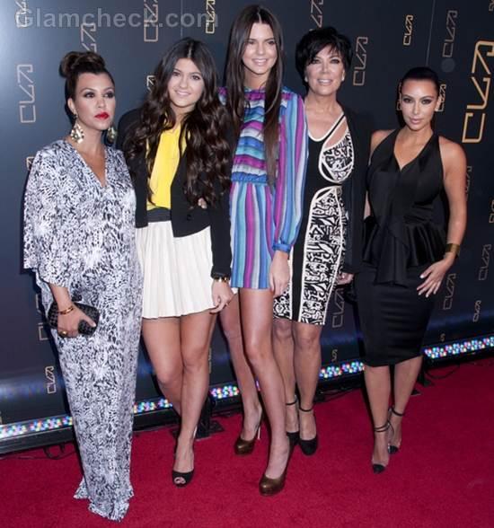 Kardashians Grace RYU Restaurant Opening in NYC