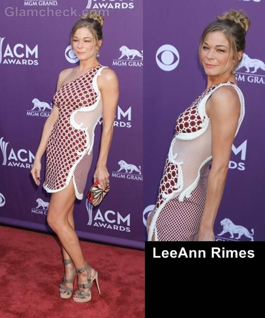 Worst dressed celebs at country music awards 2012 leeann rimes