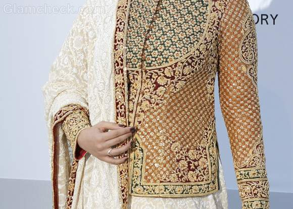 Aishwarya Rai Traditional Attire at 2012 Cannes Film Festival