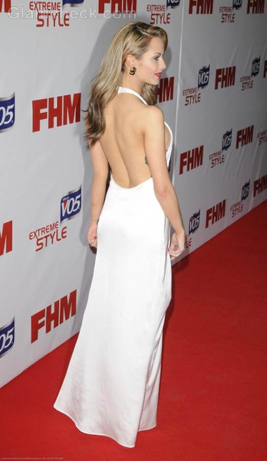 Backless White Gown Jessica-Jane Clement