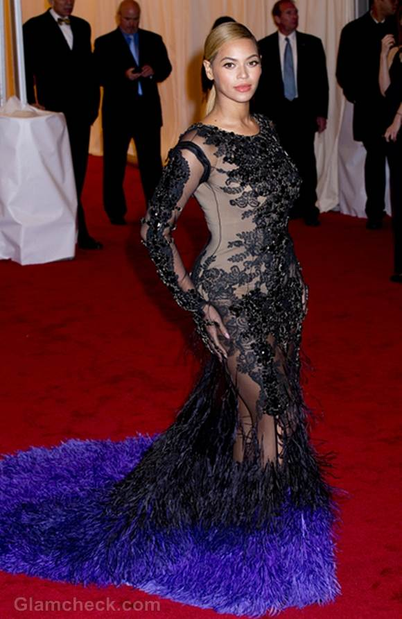 Beyonce See-Through Gown at MET Gala