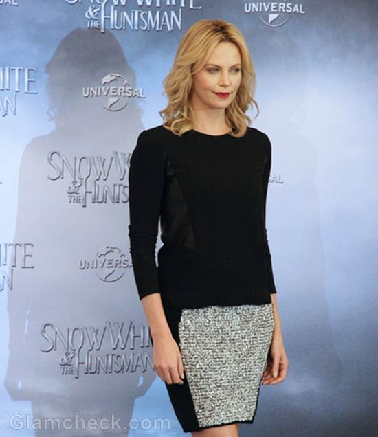 Charlize Theron Snow White the Huntsman Photocall