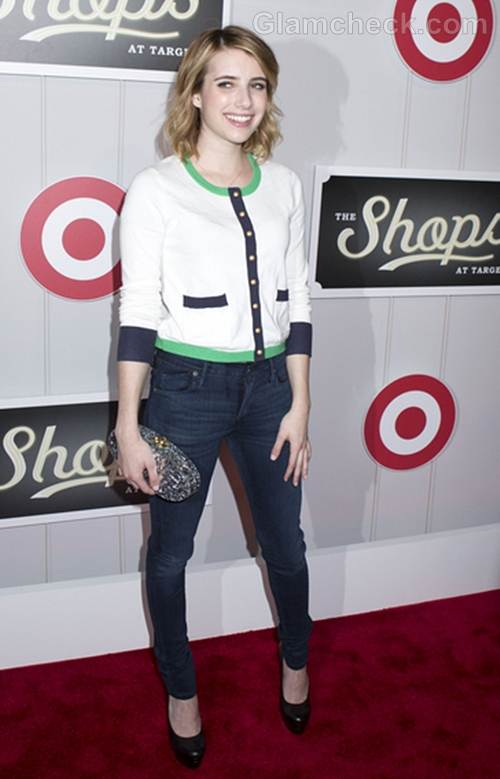Emma Roberts at The Shops at Target Launch Party