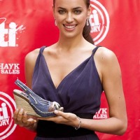 Irina Shayk at XTI Shoes Promotion
