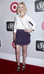 January Jones The Shops at Target Launch Party