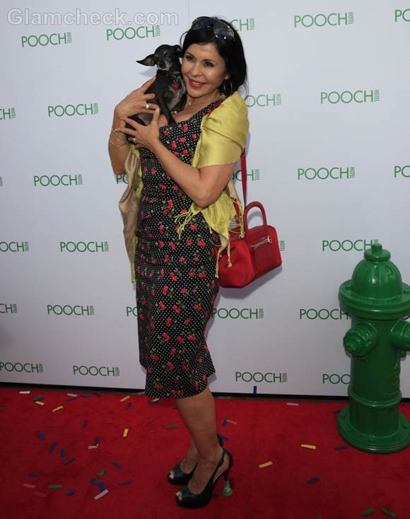 Maria Conchita Alonso at the opening of the Pooch Hotel
