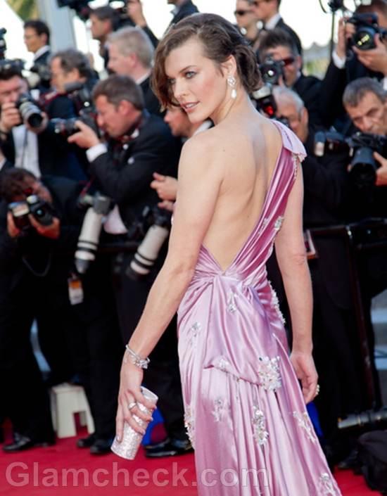 Milla Jovovich 2012 cannes film festival