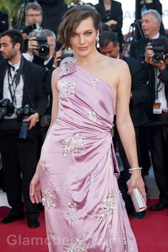 Milla Jovovich at 2012 cannes film festival