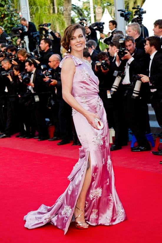Milla Jovovich gown 2012 cannes film festival