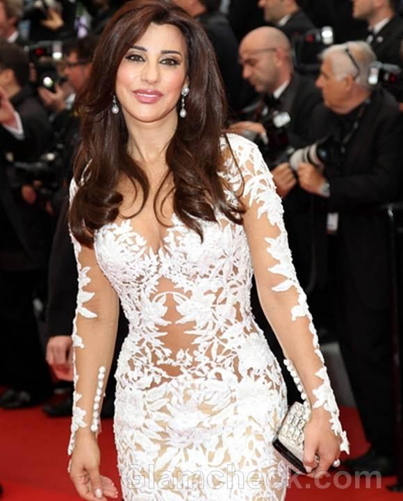 Najwa Karam at 2012 Cannes