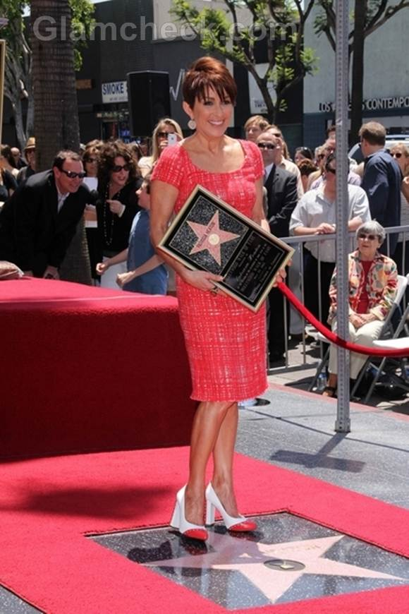 Patricia Heaton honored star on walk of fame