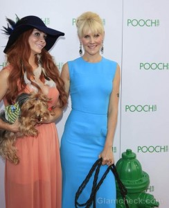 Phoebe Price- Robin Tomb at the opening of the Pooch Hotel