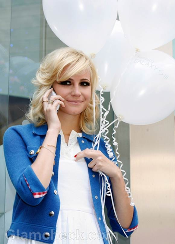 Pixie Lott at Samsung Galaxy S III Launch
